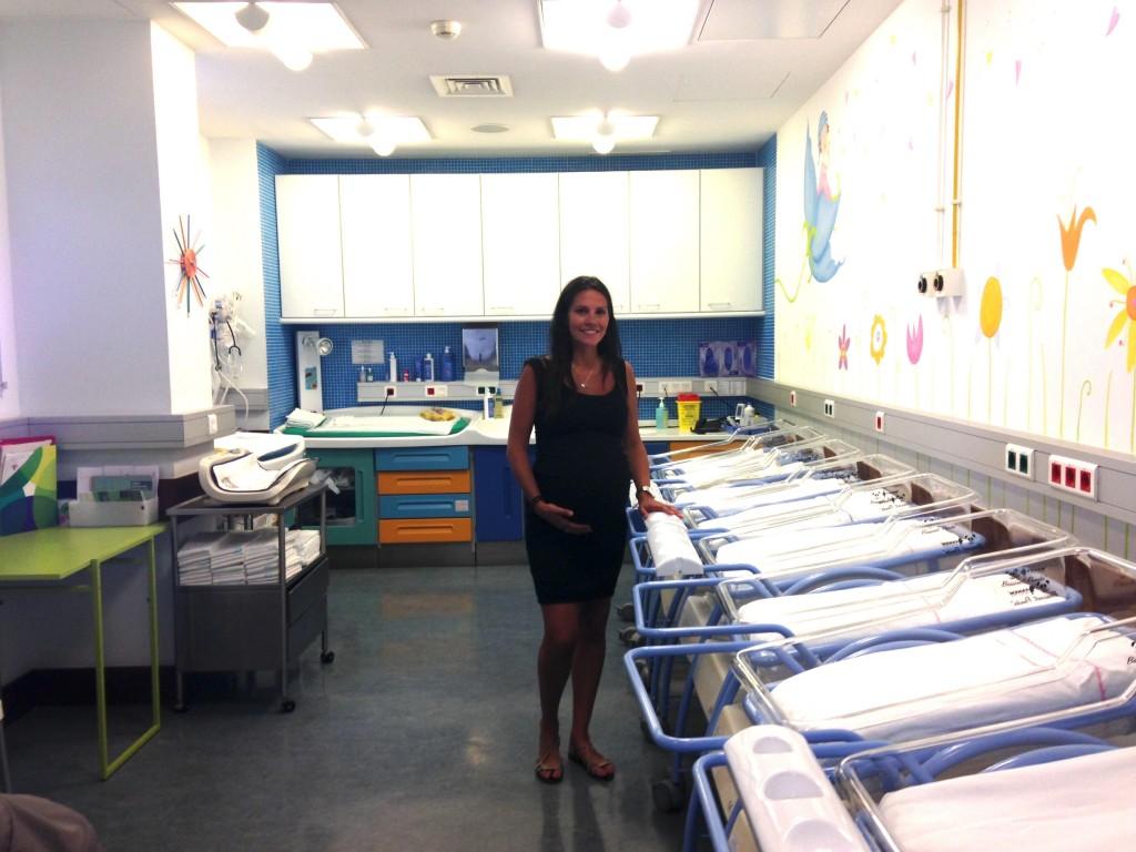 Visita à maternidade